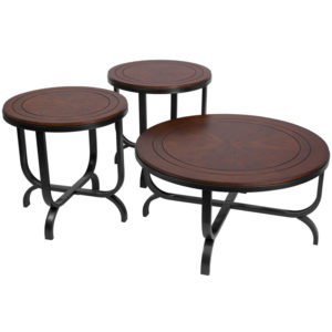 Wholesale Signature Design by Ashley Ferlin 3 Piece Occasional Table Set