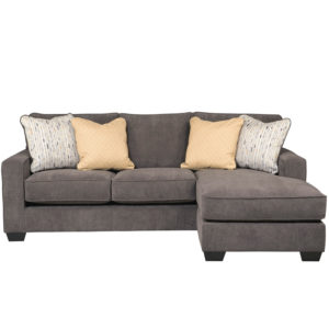 Wholesale Signature Design by Ashley Hodan Sofa Chaise in Marble Microfiber