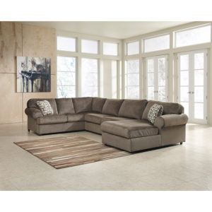 Wholesale Signature Design by Ashley Jessa Place 3-Piece Left Side Facing Sofa Sectional in Dune Fabric