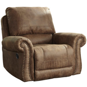Wholesale Signature Design by Ashley Larkinhurst Rocker Recliner in Earth Faux Leather