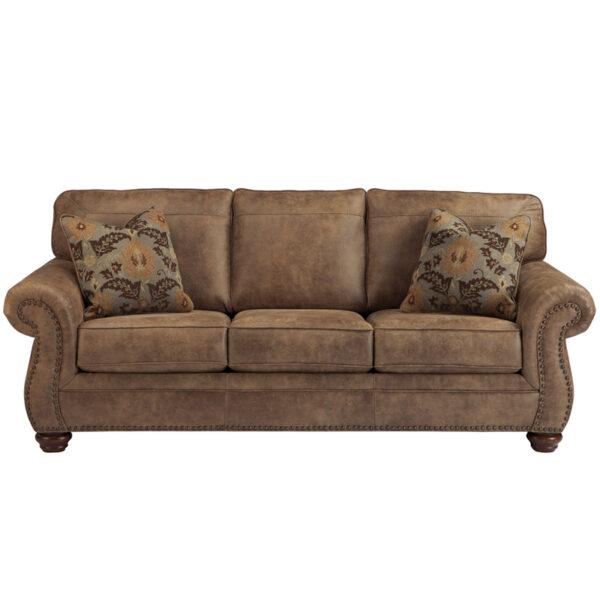 Wholesale Signature Design by Ashley Larkinhurst Sofa in Earth Faux Leather