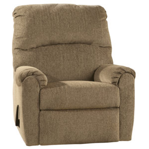 Wholesale Signature Design by Ashley Pranit Wall Hugger Recliner in Cork Chenille