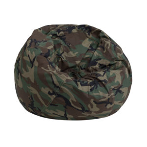 Wholesale Small Camouflage Kids Bean Bag Chair