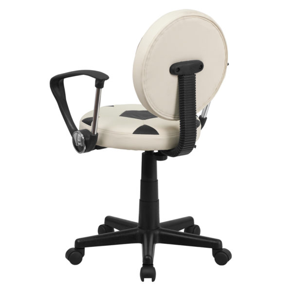 Sports Inspired Task Chair Soccer Mid-Back Task Chair