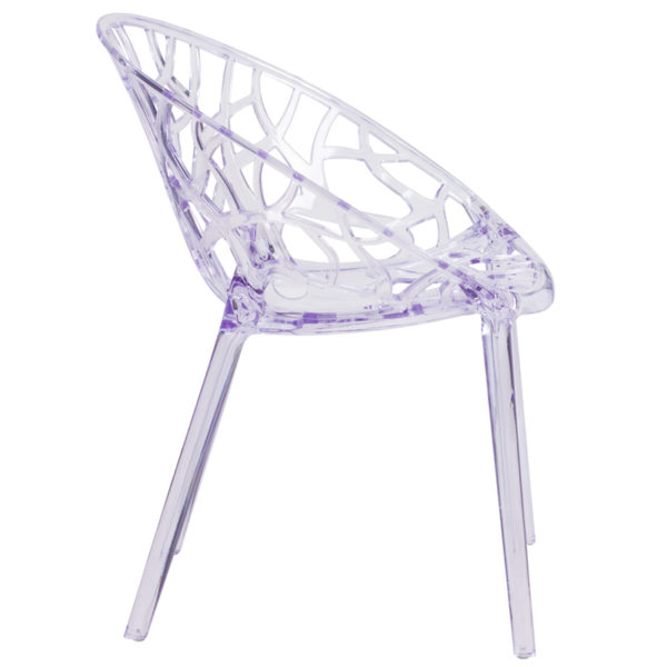 Lowest Price Specter Series Transparent Stacking Side Chair