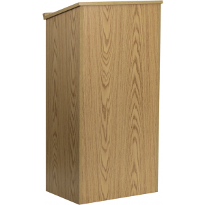 Wholesale Stand-Up Wood Lectern in Oak