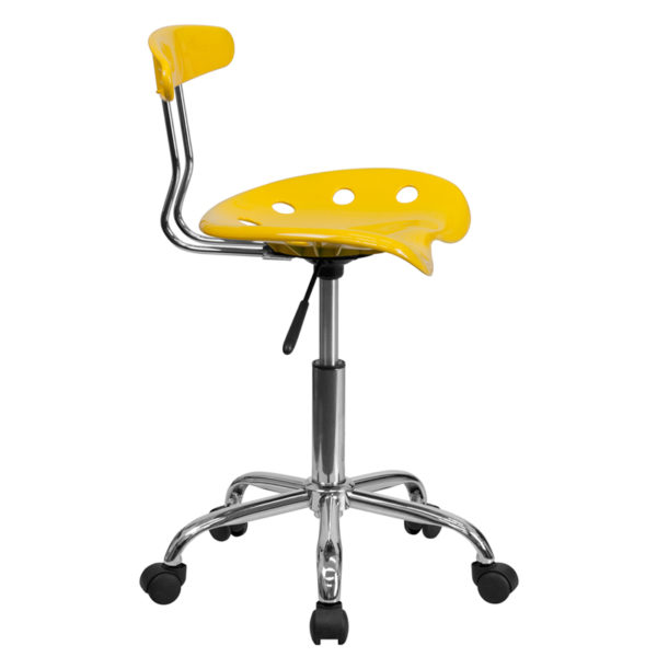 Lowest Price Swivel Task Chair | Adjustable Swivel Chair for Desk and Office with Tractor Seat