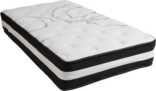 Wholesale Twin Mattress | Twin Bed Size High Density Foam and Pocket Spring Mattress in a Box