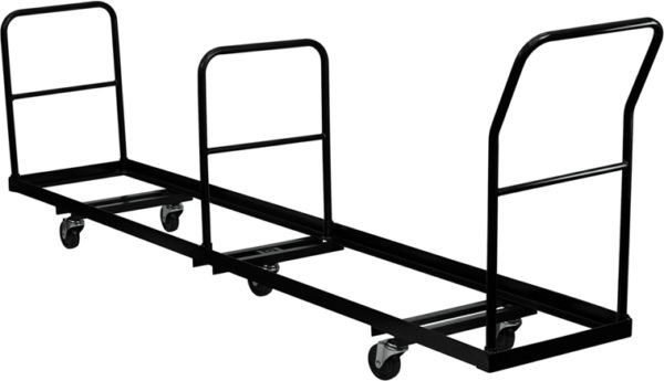 Wholesale Vertical Storage Folding Chair Dolly - 50 Chair Capacity