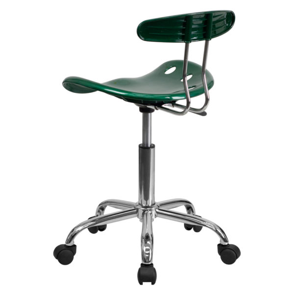 Contemporary Task Office Chair Green Tractor Task Chair