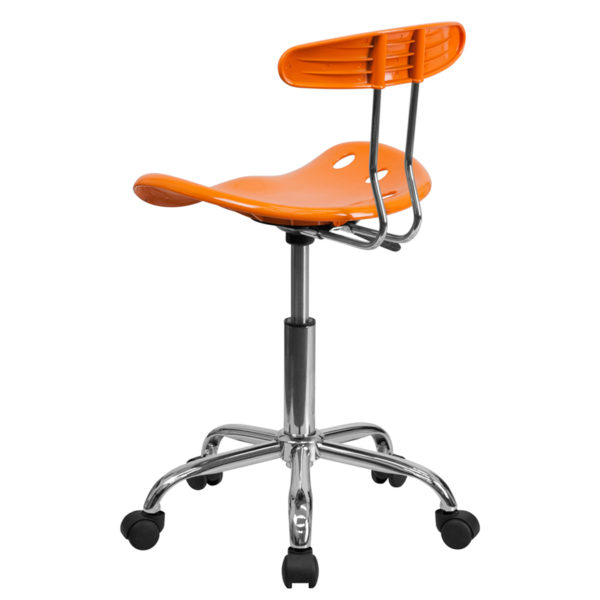 Contemporary Task Office Chair Orange Tractor Task Chair