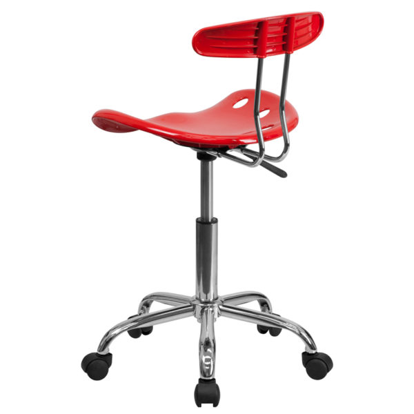 Contemporary Task Office Chair Red Tractor Task Chair