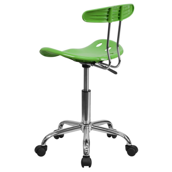 Contemporary Task Office Chair Spicy Lime Tractor Task Chair