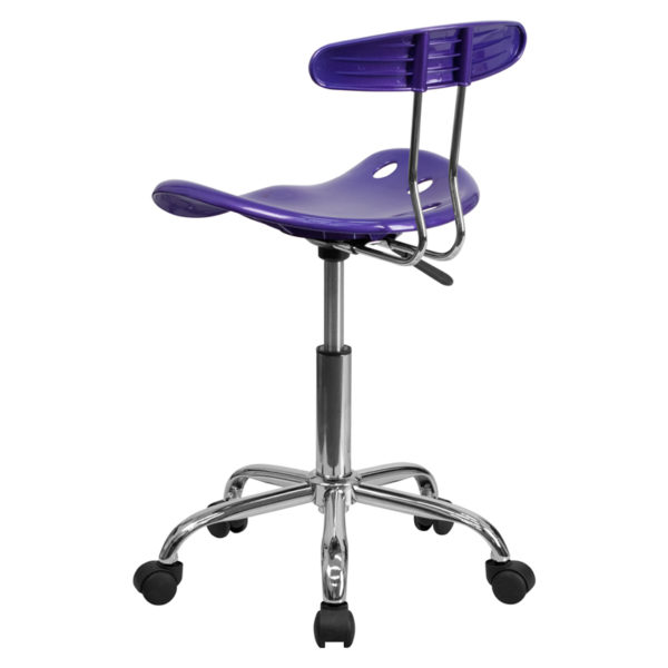Contemporary Task Office Chair Violet Tractor Task Chair
