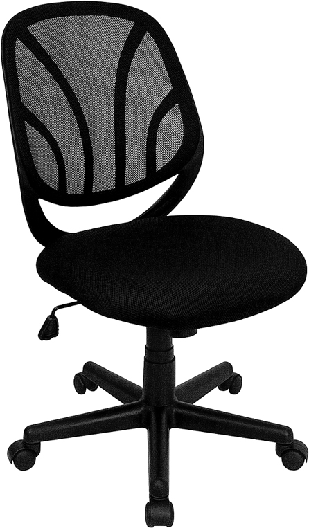 Wholesale Y-GO Office Chair™ Mid-Back Black Mesh Swivel Task Office Chair