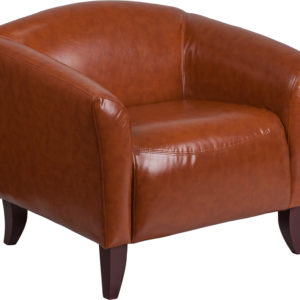 Wholesale HERCULES Imperial Series Cognac LeatherSoft Chair